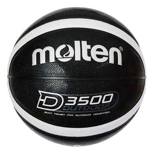 B6D3500-KS Piłka do koszykówki Molten OUTDOOR czarna