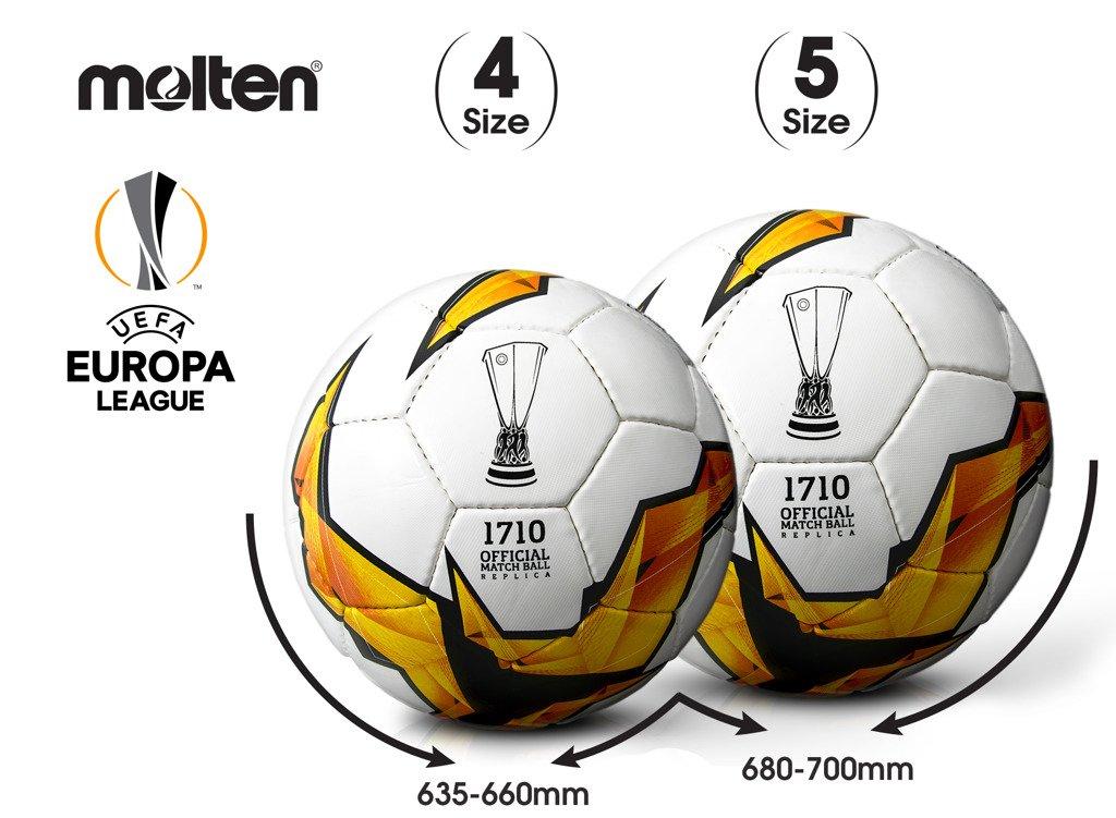 F4U1710-K19 Piłka do piłki nożnej Molten Europa League replika
